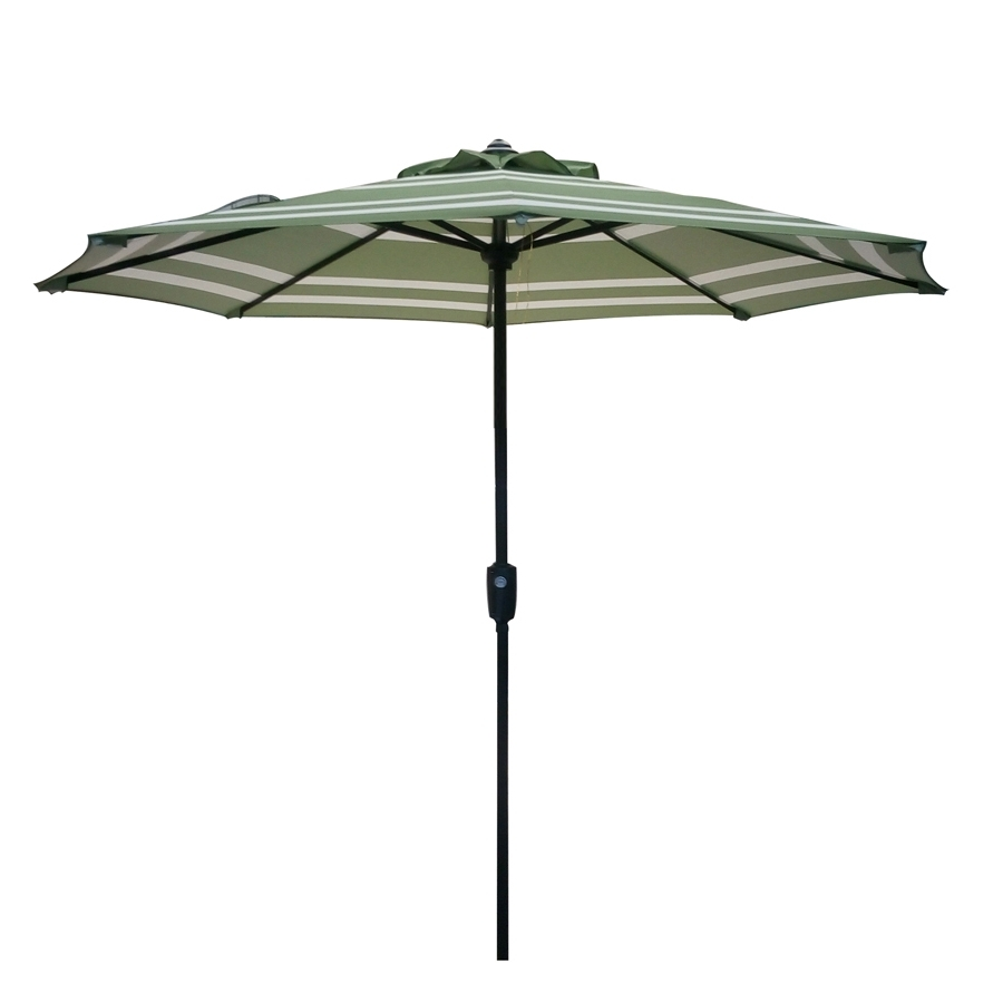 Shop Garden Treasures Market Patio Umbrella (Common: 7.5 Ft W X  (View 15 of 20)