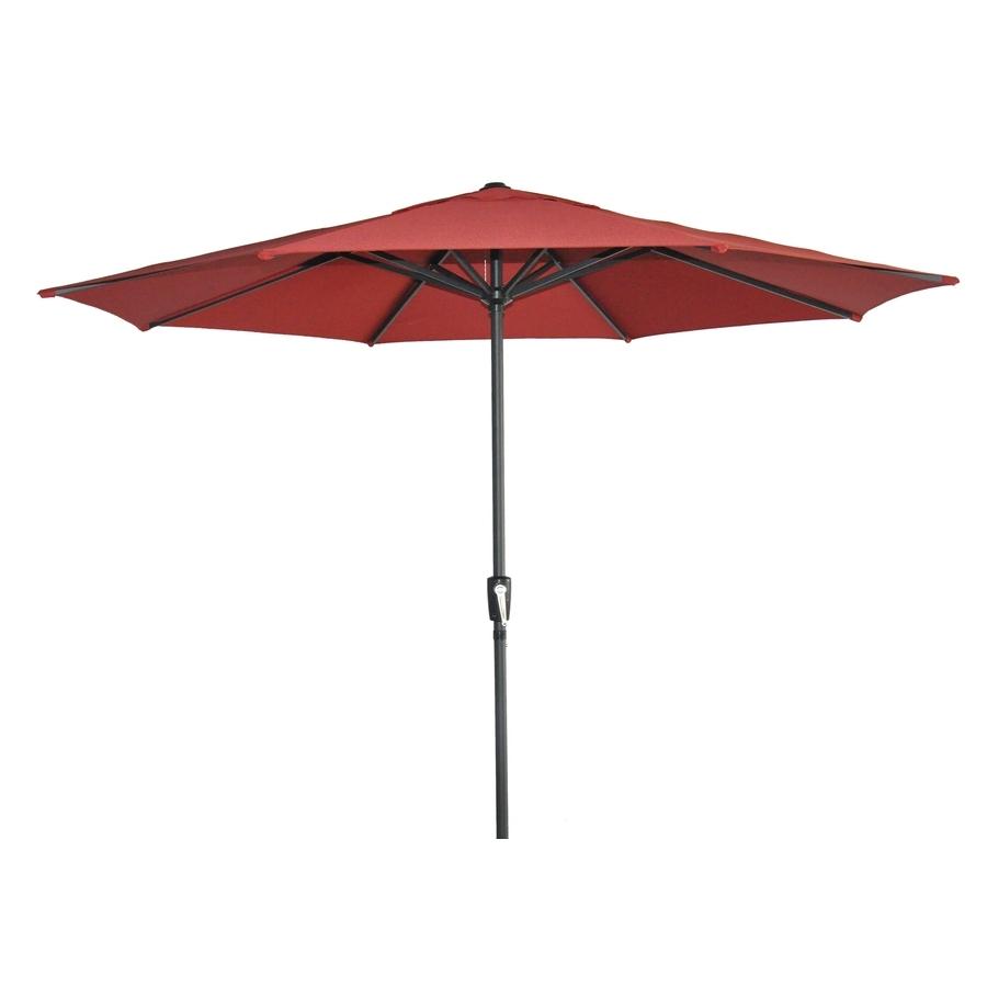 Shop Garden Treasures Patio Umbrella (Common: 105 In W X 105 In L With Widely Used Garden Treasures Patio Umbrellas (View 2 of 20)