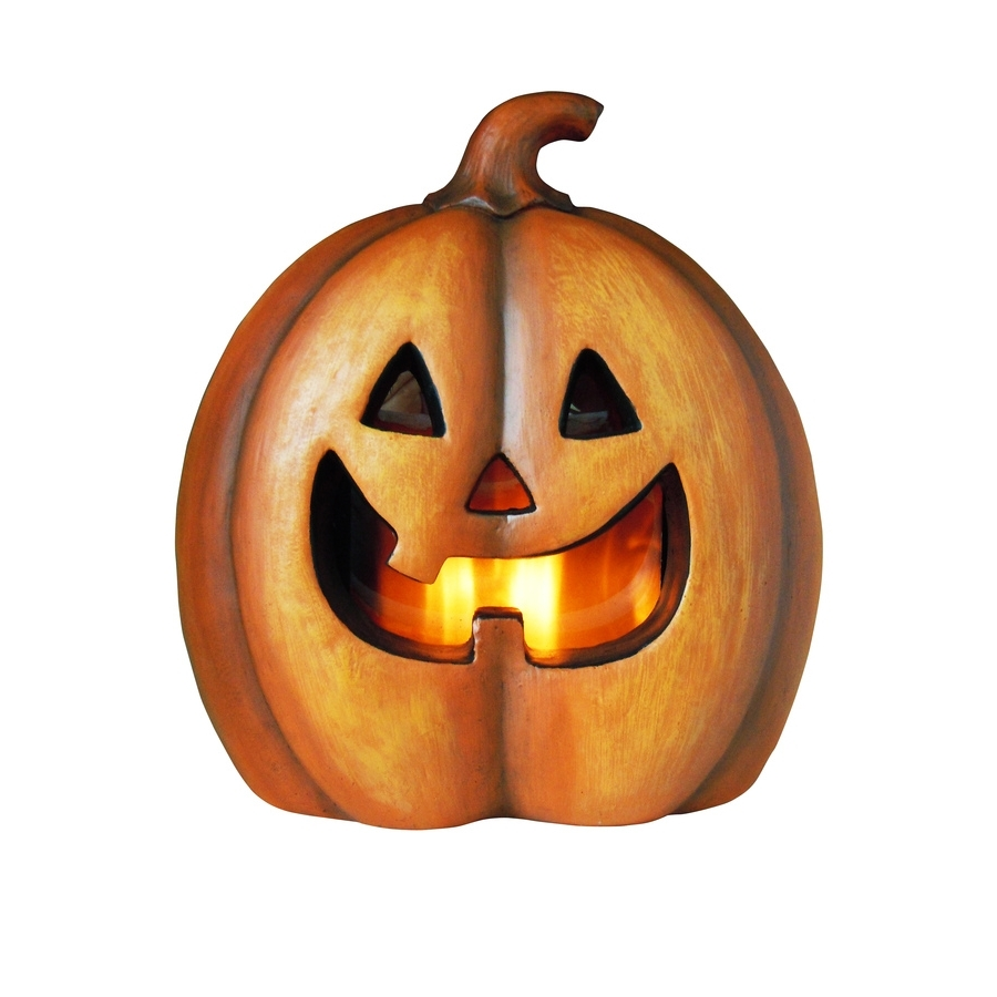 Shop Holiday Living Pre Lit Freestanding Jack O Lantern Greeter With In Fashionable Outdoor Pumpkin Lanterns (View 17 of 20)