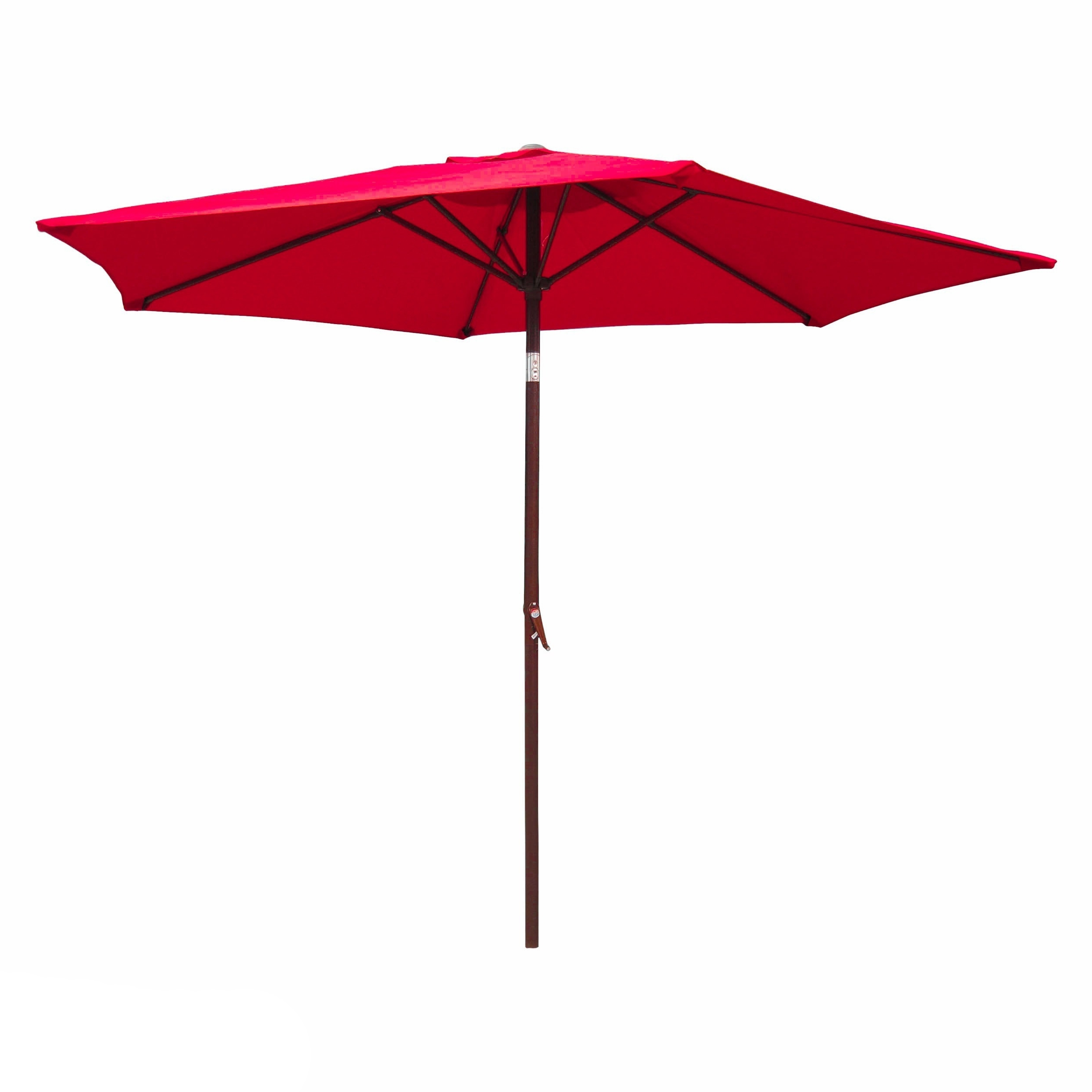 Shop International Caravan Patio Umbrella 8 Foot – On Sale – Free With Most Up To Date Pink Patio Umbrellas (View 19 of 20)