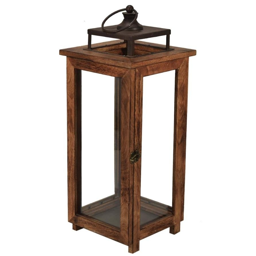 Shop Outdoor Decorative Lanterns At Lowes Throughout Most Up To Date Blue Outdoor Lanterns (View 13 of 20)