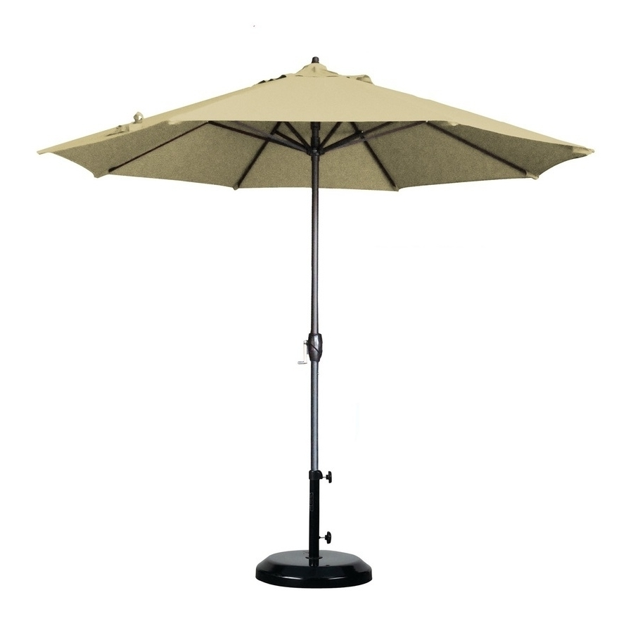 Shop Patio Umbrellas At Lowes With Regard To 9ft Patio Umbrella Intended For Well Known Lowes Patio Umbrellas (View 19 of 20)