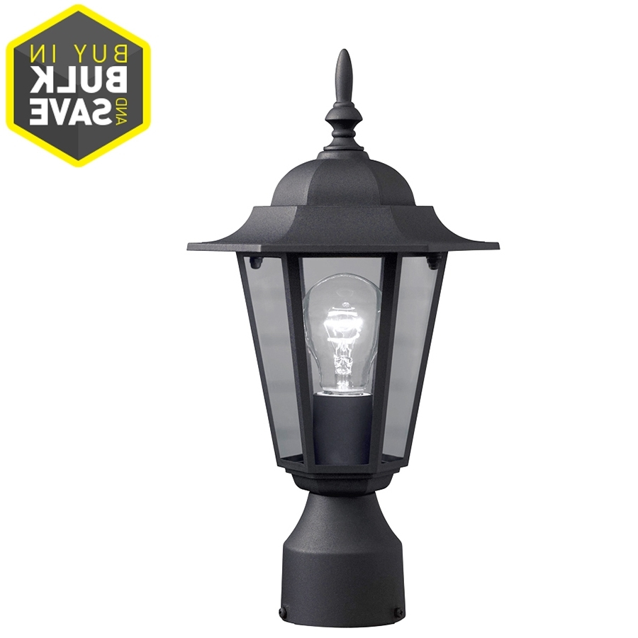 Shop Post Lighting At Lowes For Newest Outdoor Patio Electric Lanterns (View 16 of 20)