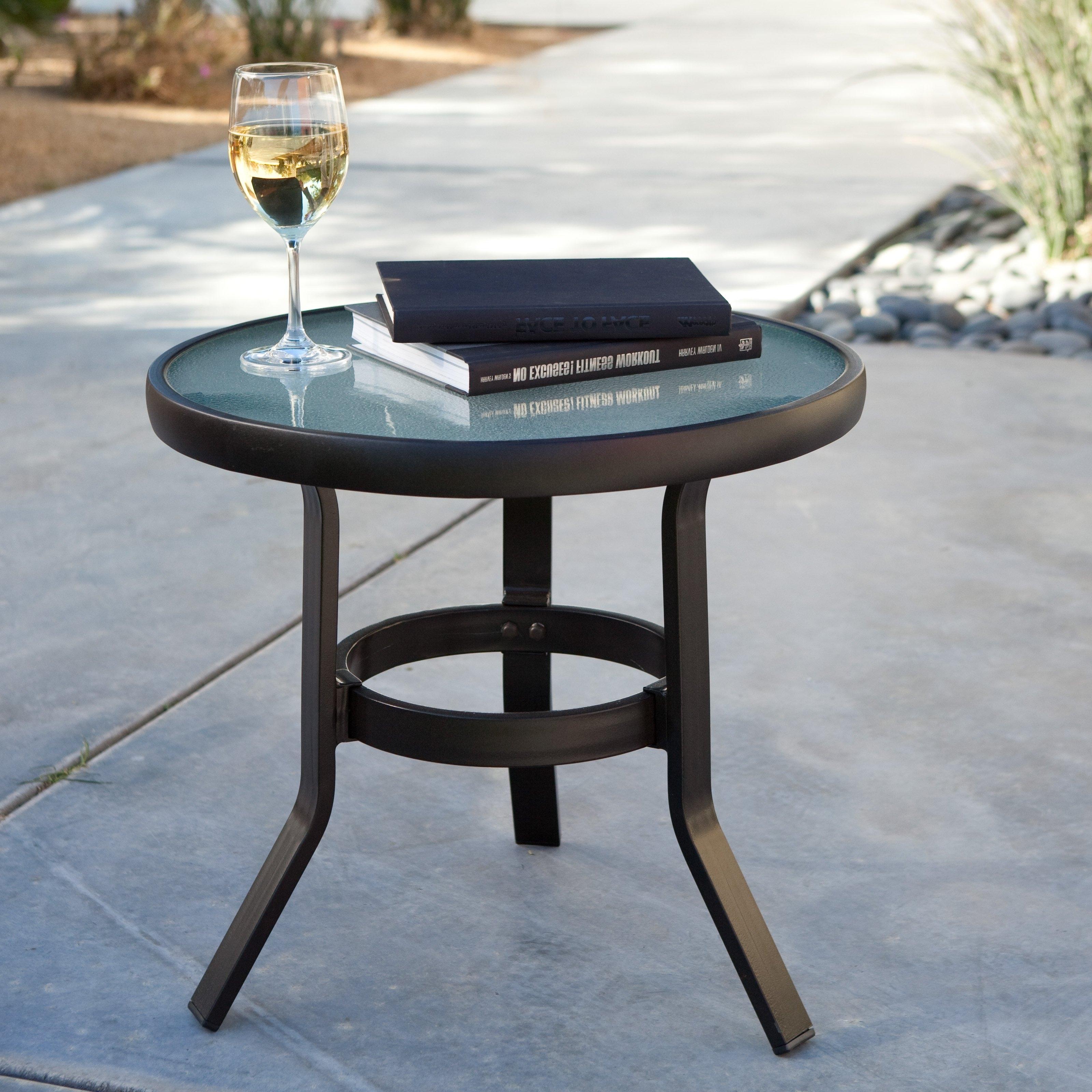 Small Patio Table With Umbrella Regarding Small Patio Tables With Umbrellas Hole (View 5 of 20)
