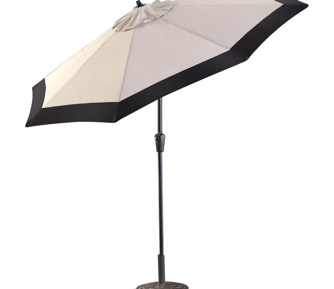 Snazzy Island Umbrella Santorini Ii Square Cantilever Patio Umbrella For Most Up To Date Black Patio Umbrellas (View 16 of 20)
