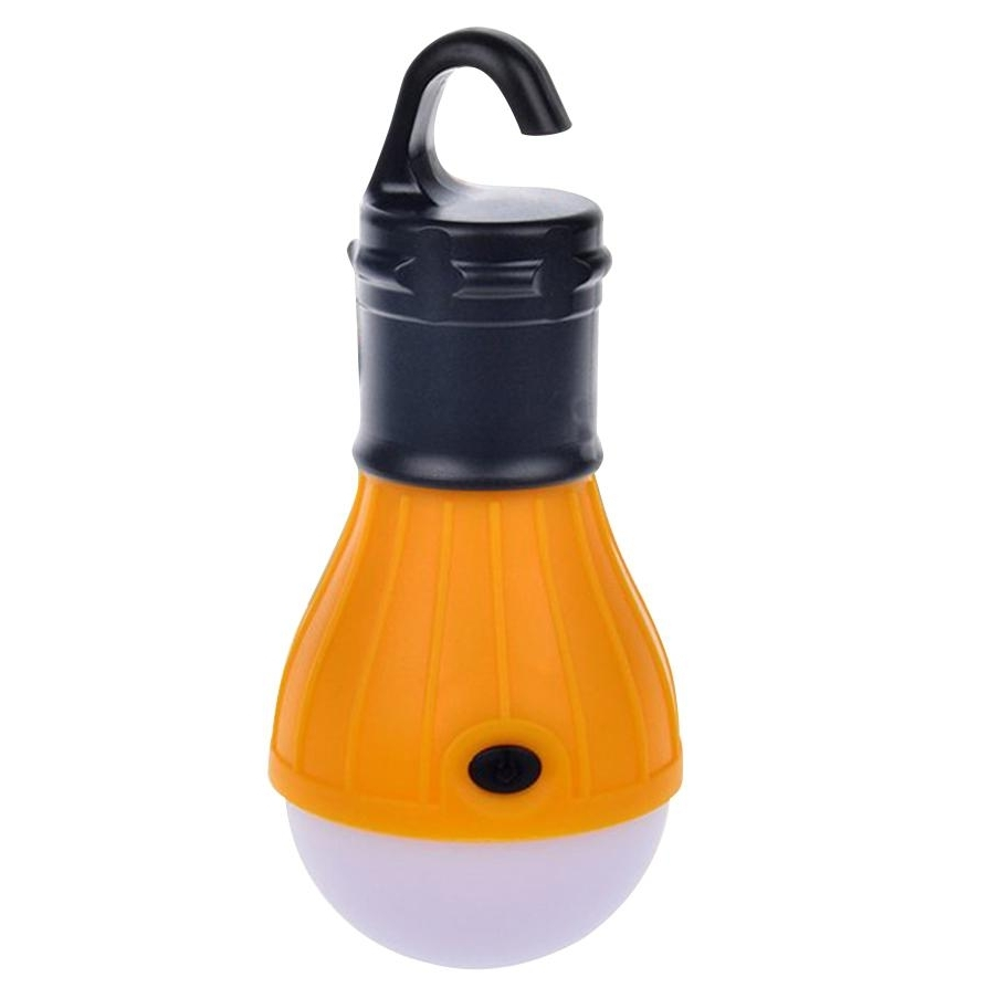 Soft Light Outdoor Hanging Led Camping Tent Light Bulb Fishing In Newest Outdoor Orange Lanterns (View 18 of 20)