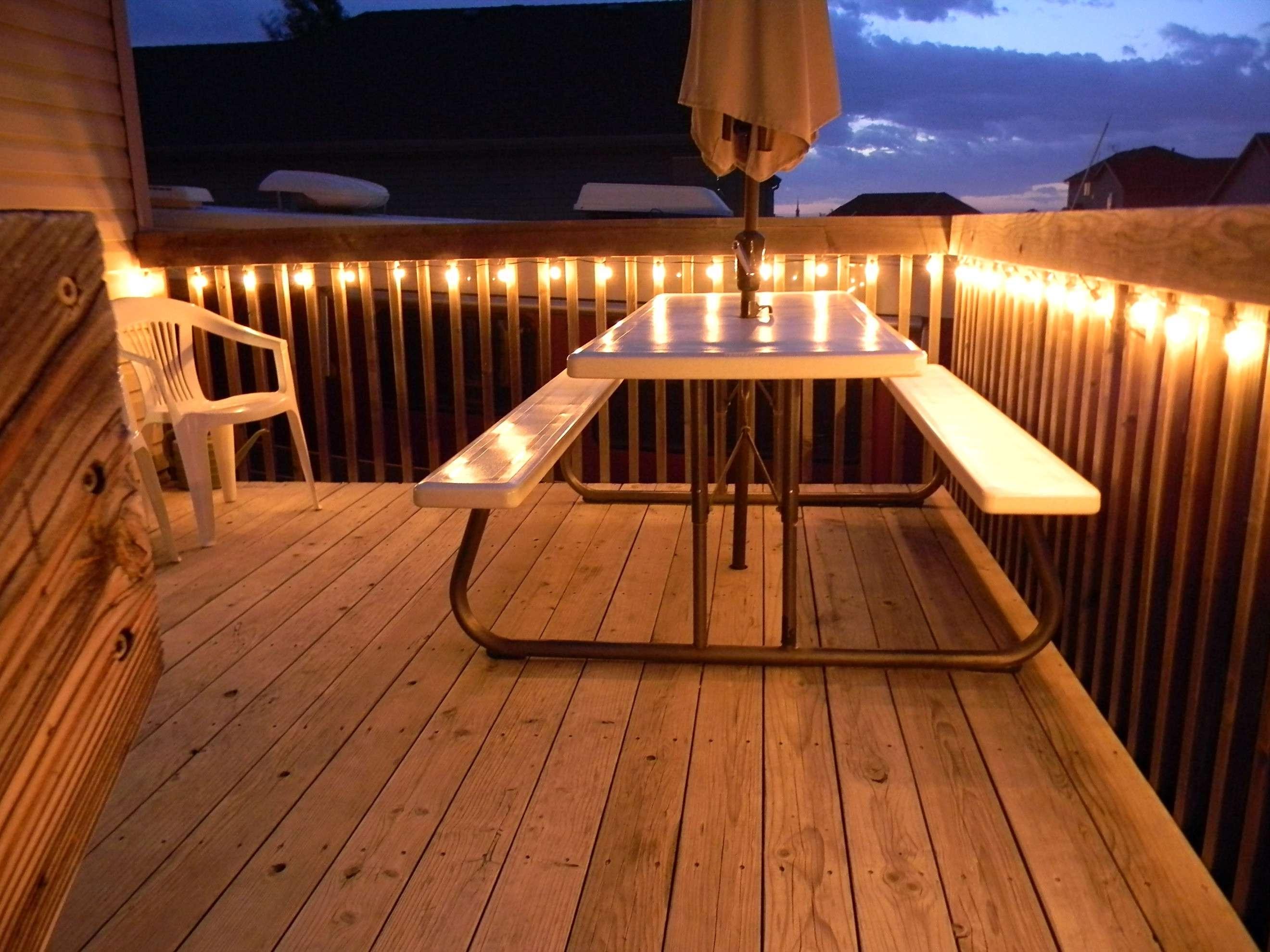 Solar Deck Lighting Kits Wonderful 39 Best Outdoor Deck Lighting With Widely Used Outdoor Deck Lanterns (View 2 of 20)