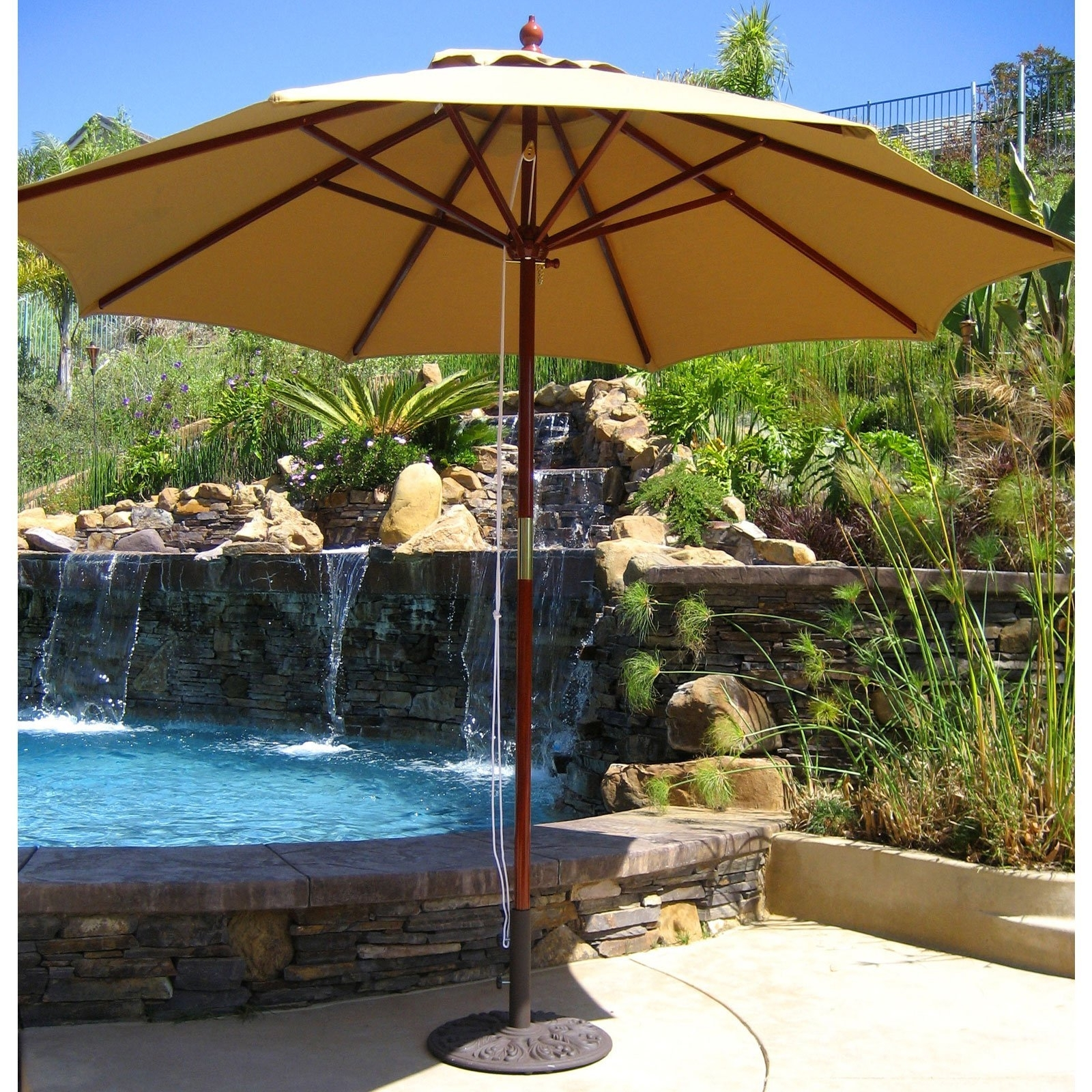 Startling Tweet Living Accents Round F Offset Umbrella At Ace Within Most Popular Costco Cantilever Patio Umbrellas (View 14 of 20)