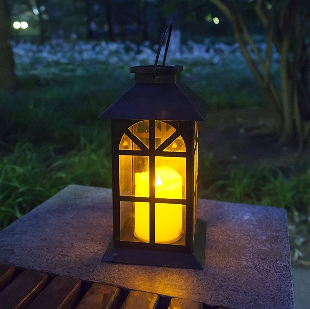 Steadydoggie Indoor Outdoor Solar Lantern For Patio And Garden Inside Best And Newest Outdoor Solar Lanterns (View 2 of 20)