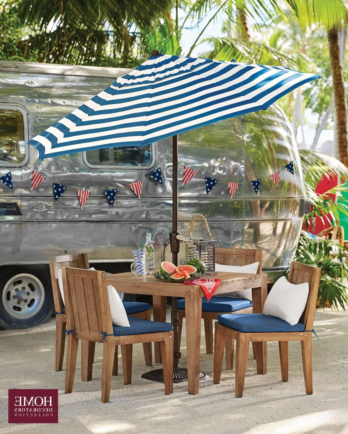 Striped Patio Umbrella – Fabulous Coral Coast 11 Ft Crank And Tilt For Best And Newest Striped Patio Umbrellas (View 13 of 20)