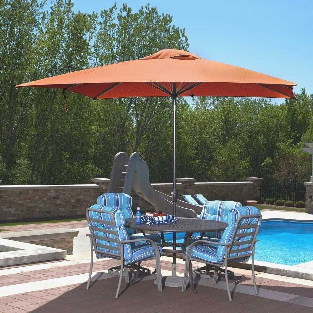 Sunbrella Patio Umbrellas In Well Known 8 Ft Patio Umbrella Best Of Patio Umbrella Sunbrella Fresh Galtech  (View 15 of 20)