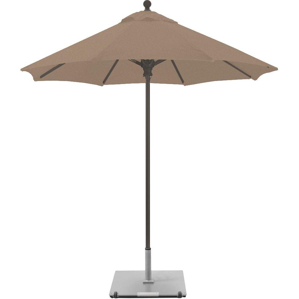 Sunbrella Teak Umbrellas In Most Current Galtech 7.5 Ft (View 16 of 20)