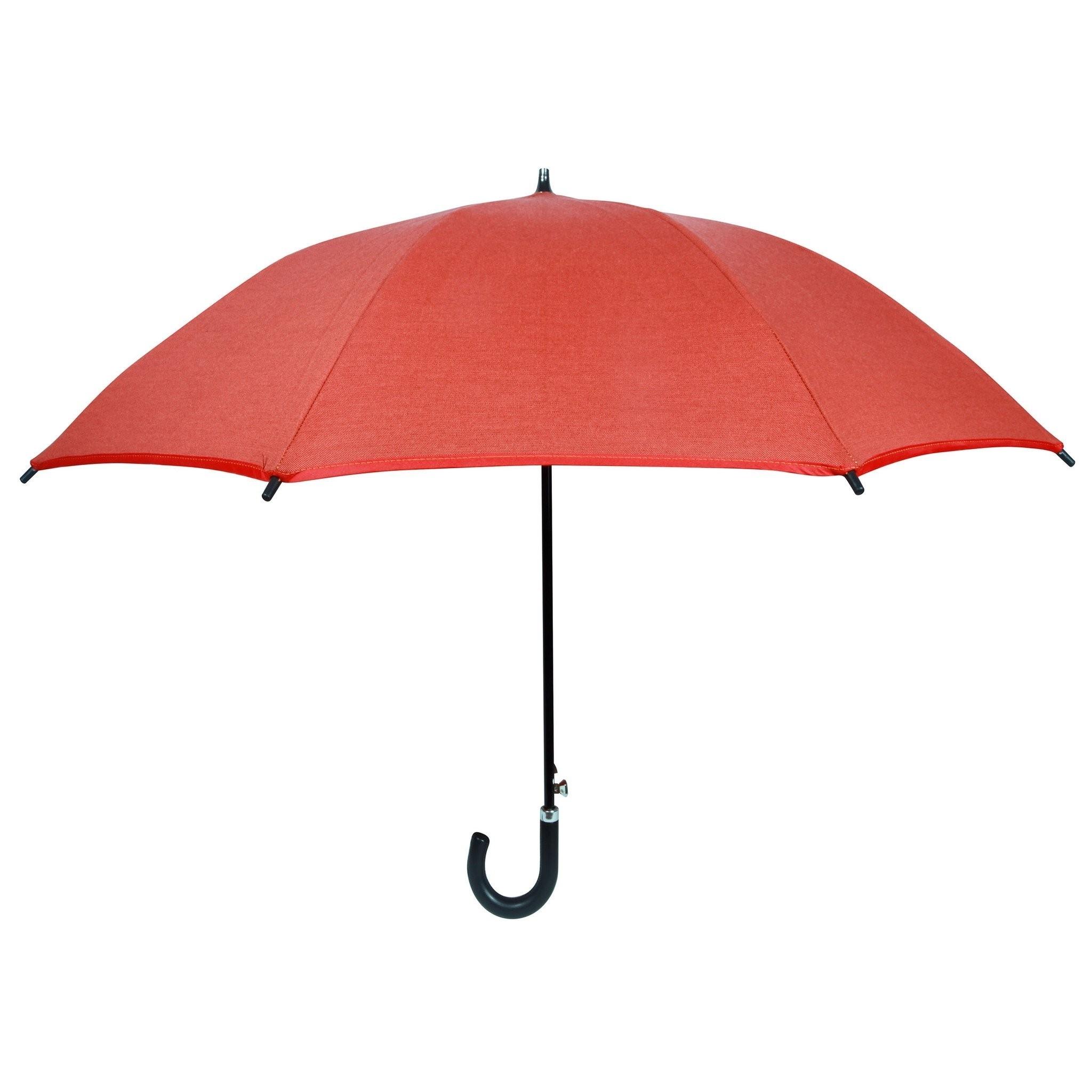 Sunset Orange Sun And Rain Umbrella Featuring Sunbrella Fabric The Intended For Favorite Patio Umbrellas With Sunbrella Fabric (View 20 of 20)