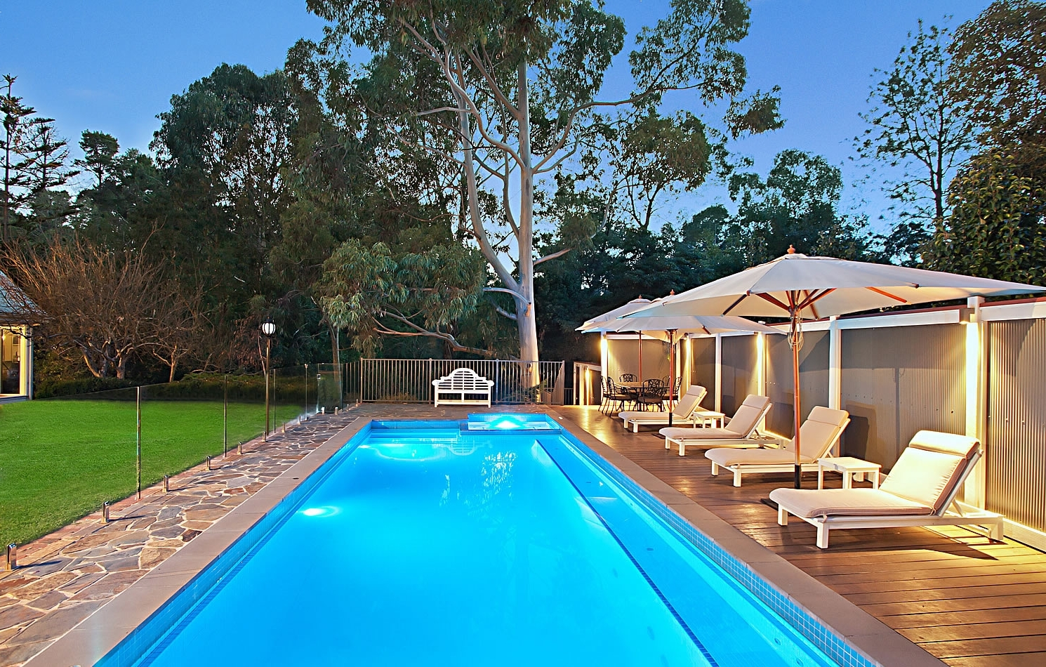 Swimming Pool Cool Exotic Long Backyard Pool Design Ideas With With With Famous Exotic Patio Umbrellas (View 9 of 20)