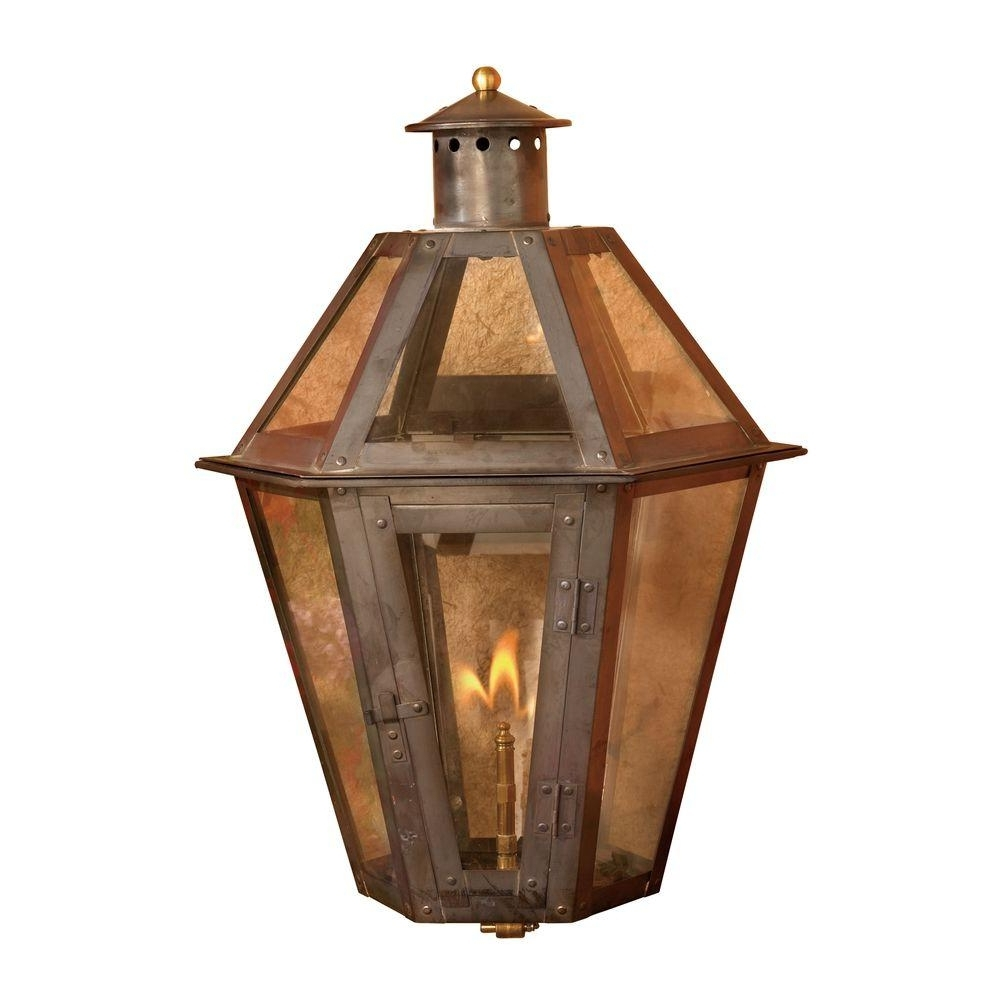 Tall Outdoor Lanterns Within Best And Newest Titan Lighting Grand Isle 23 In (View 16 of 20)