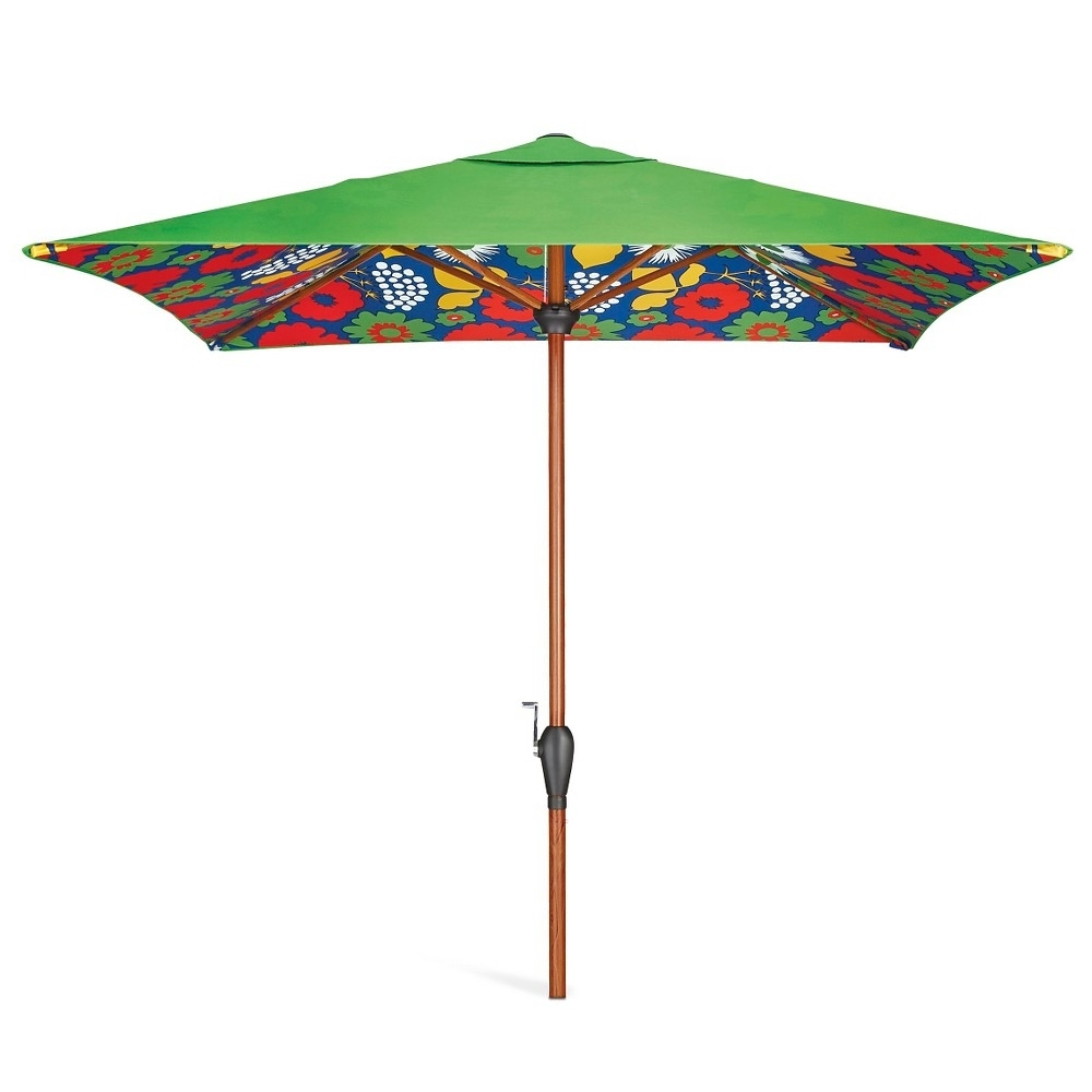 Target Patio Umbrellas With Regard To 2019 Garden: Enchanting Outdoor Patio Decor Ideas With Patio Umbrellas (View 13 of 20)