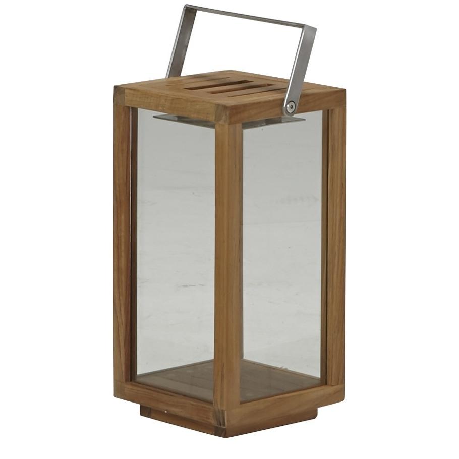 Teak Lantern Small – Janus Et Cie Regarding 2019 Outdoor Teak Lanterns (View 18 of 20)