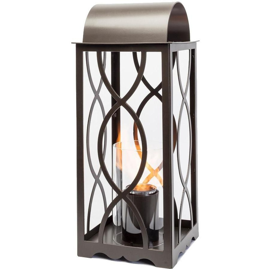 Terra Flame Georgian 20 Inch Gel Lantern – Classic Bronze : Ultimate With Regard To Fashionable Outdoor Gel Lanterns (View 3 of 20)
