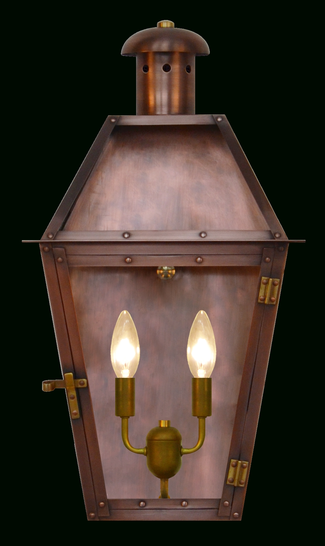 The Coppersmith Arcadia Collection – Gas And Electric Arcadia Gas Or Throughout Preferred Copper Outdoor Electric Lanterns (View 12 of 20)