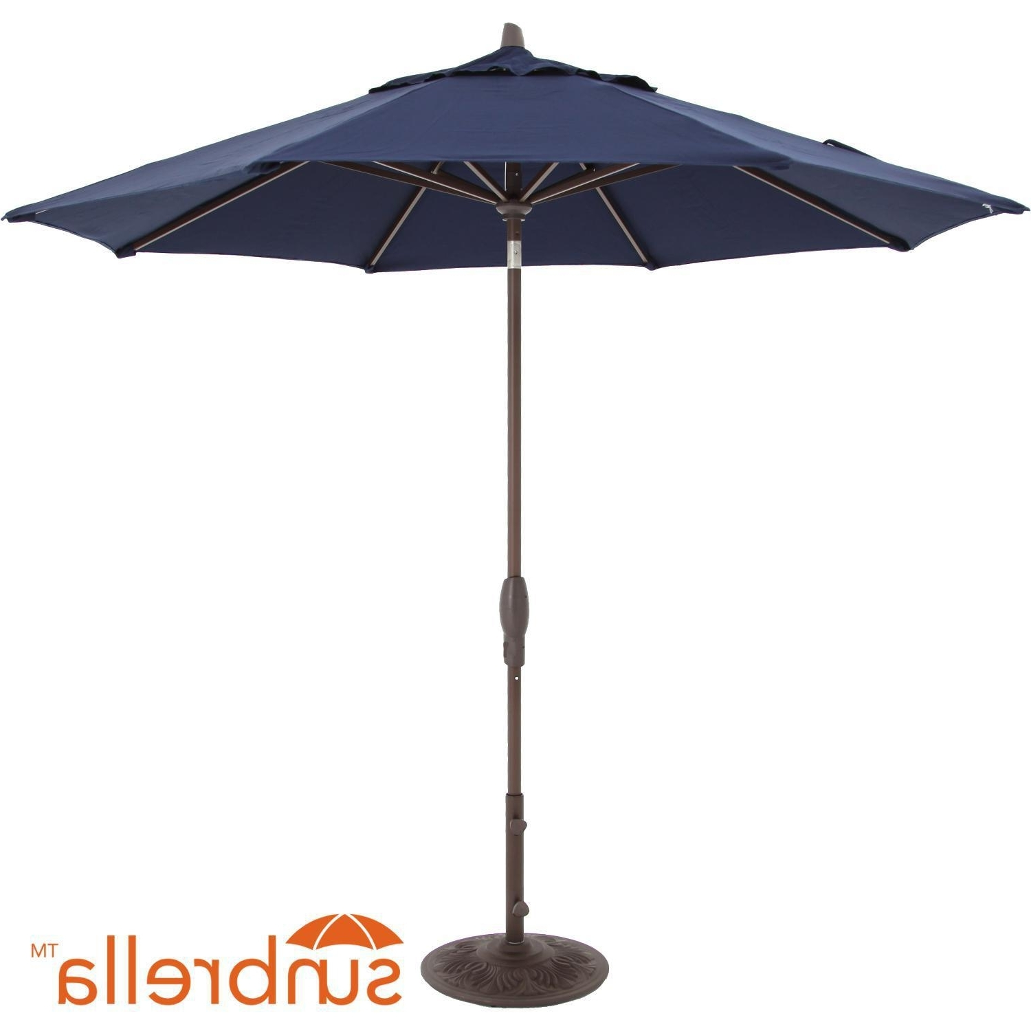 Tilting Patio Umbrellas With Regard To Well Known 9 Ft (View 17 of 20)