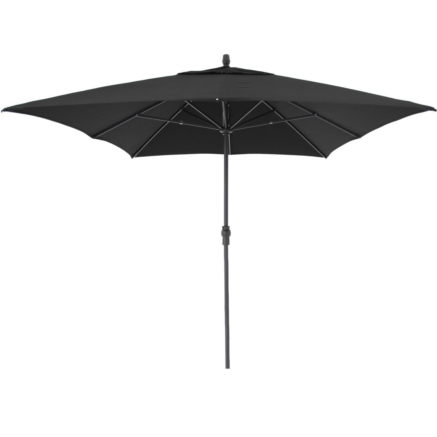 Treasure Garden 8 Ft. X 11 Ft. Rectangular Aluminum Patio Umbrella W Inside Preferred 11 Ft (View 19 of 20)