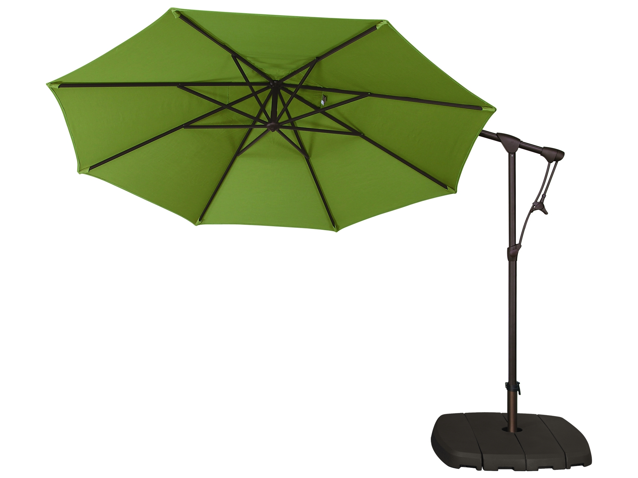 Treasure Garden Patio Umbrellas Pertaining To 2019 Green Patio Umbrellas (View 19 of 20)