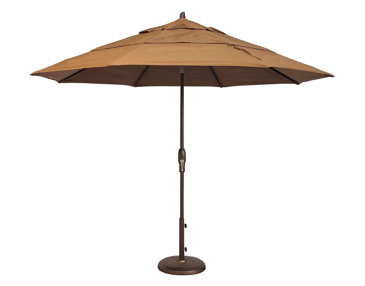Trendy 11' Octagon Auto Tilt Umbrella (um812) With Regard To Custom Sunbrella Patio Umbrellas (View 9 of 20)