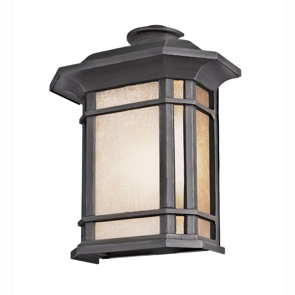 Trendy Bel Air Lighting Energy Saving 1 Light Outdoor Black Patio Wall Inside Outdoor Lanterns For Patio (View 17 of 20)