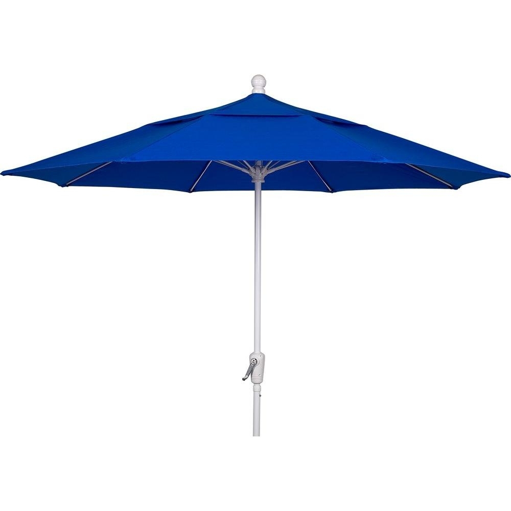 Trendy Blue Patio Umbrellas For 9 Ft (View 11 of 20)
