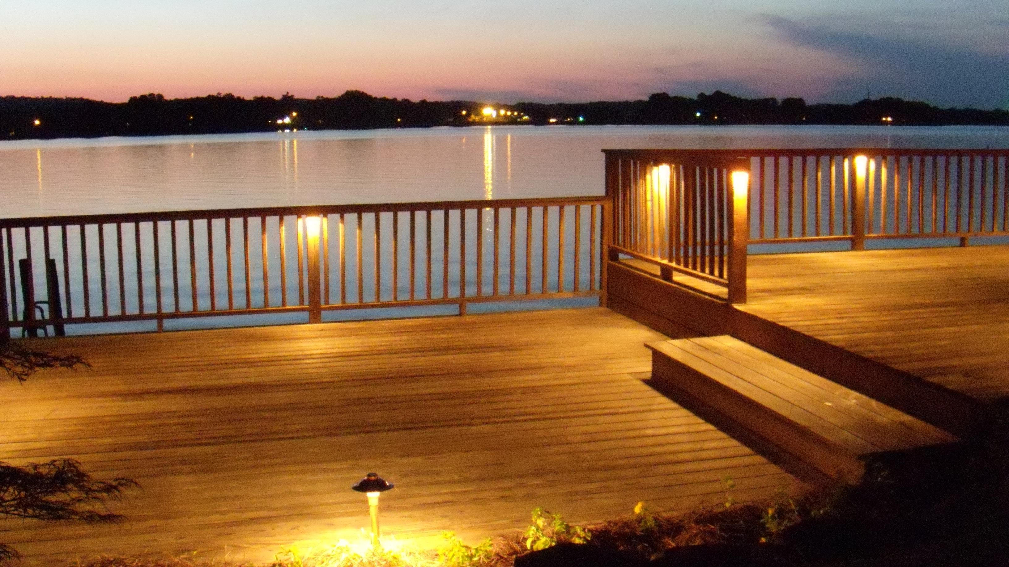 Trendy Deck Lighting At Logan Martin Lake, Al Outdoor Lighting, Outdoor Regarding Outdoor Deck Lanterns (View 10 of 20)