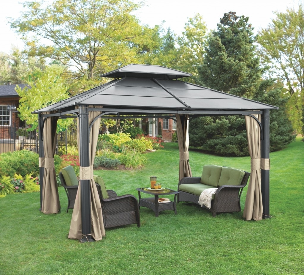 Trendy Gazebo Lighting Ideas Outdoor Fixtures For Gazebos Copper Lanterns With Regard To Outdoor Gazebo Lanterns (View 7 of 20)