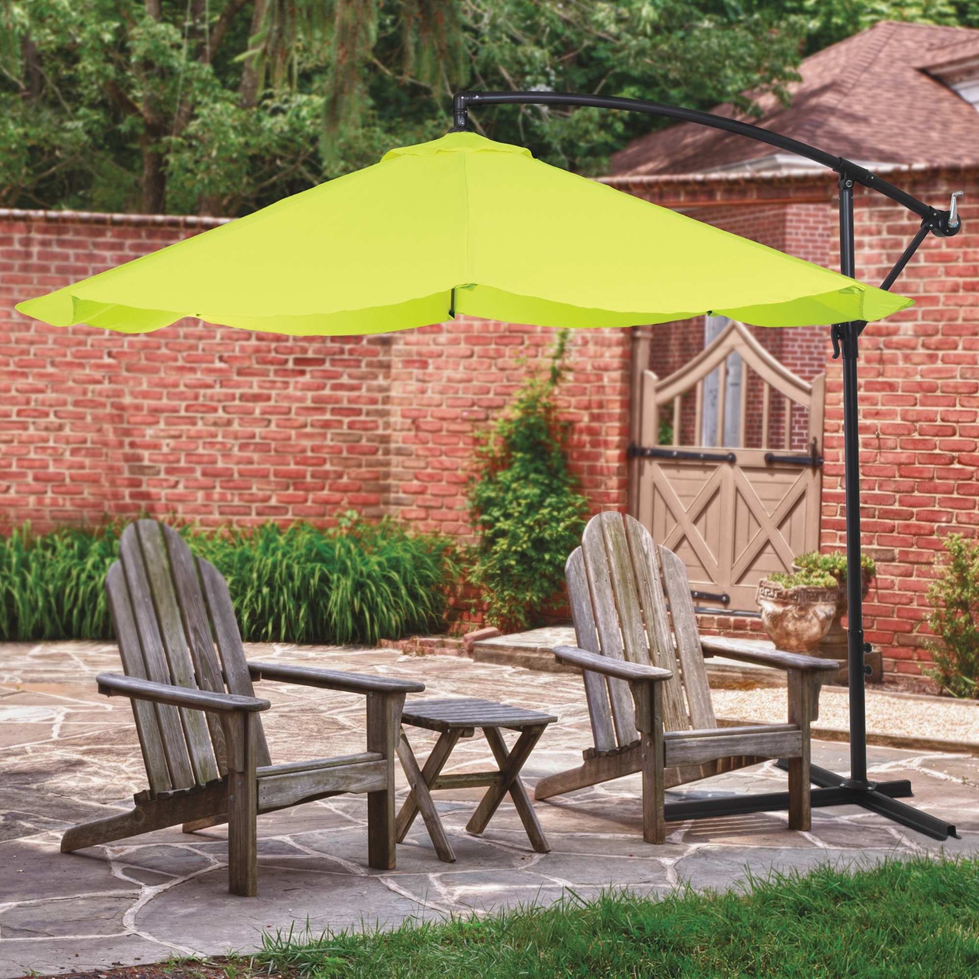 Trendy Hanging Offset Patio Umbrellas In 10ft (View 13 of 20)