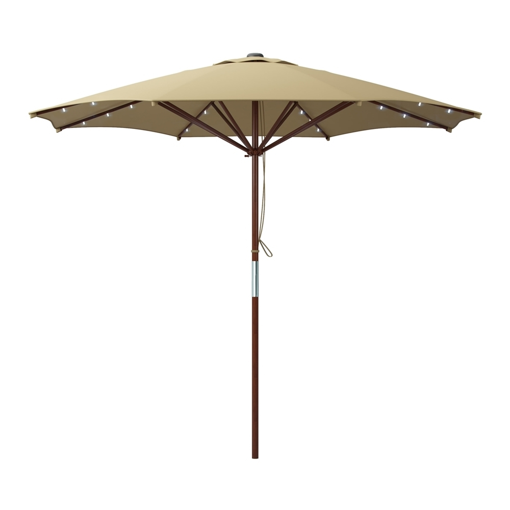 Trendy Led Patio Umbrellas In Led Lights Patio Umbrellas (View 12 of 20)