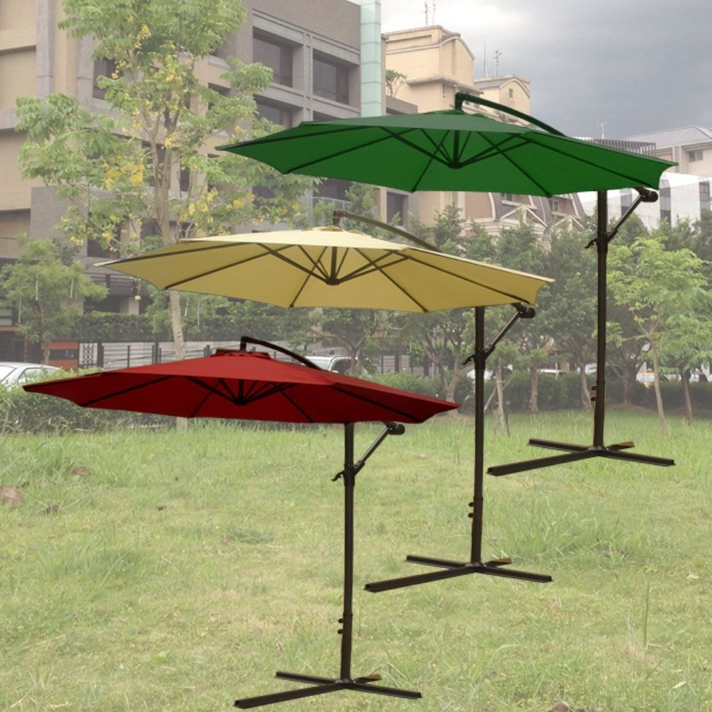 Trendy Lowes Cantilever Patio Umbrellas Pertaining To Inspiring Umbrella Stand On Wheels Pier Imports To Garage Lowes (View 14 of 20)