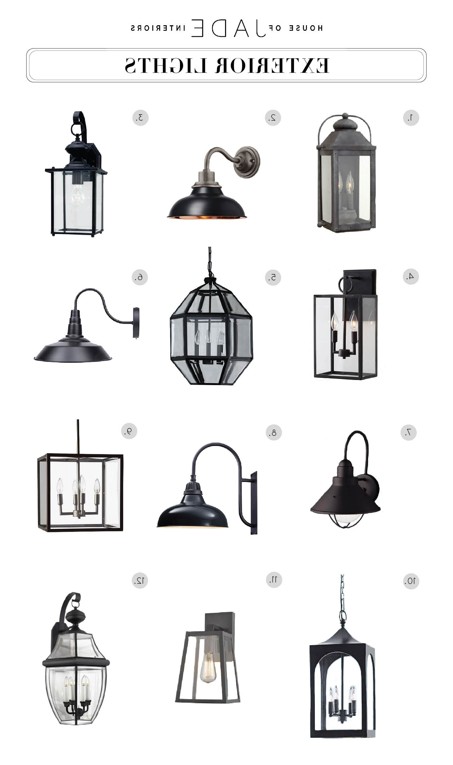 Trendy Luxury 40 Outdoor Entrance Lights (View 12 of 20)
