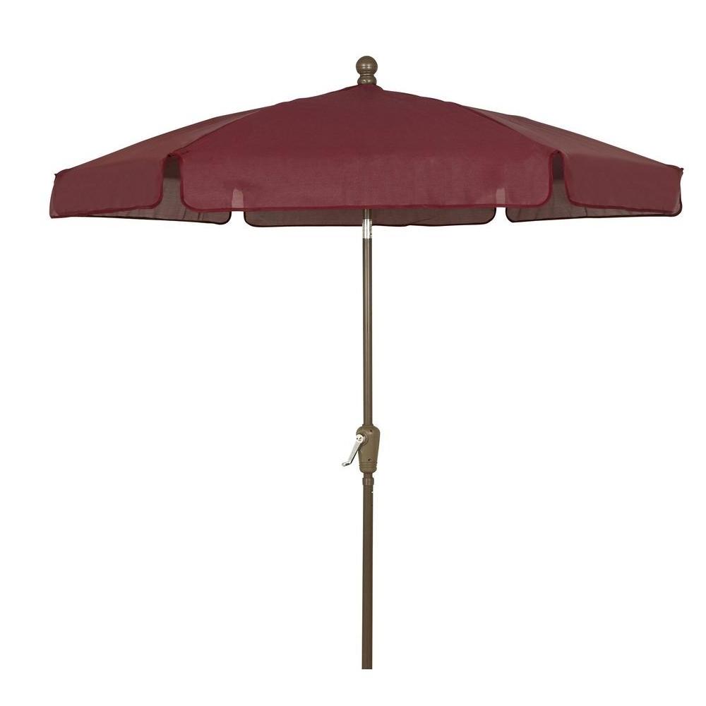 Trendy Menards Patio Umbrellas With Outdoor: Wind Resistant Fiberbuilt Umbrellas With Flexible Ribs (View 18 of 20)