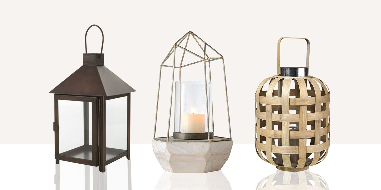 Trendy Outdoor Mosaic Lanterns In Lighting: Brighten Up Your Space With Stunning Candle Lanterns (View 17 of 20)