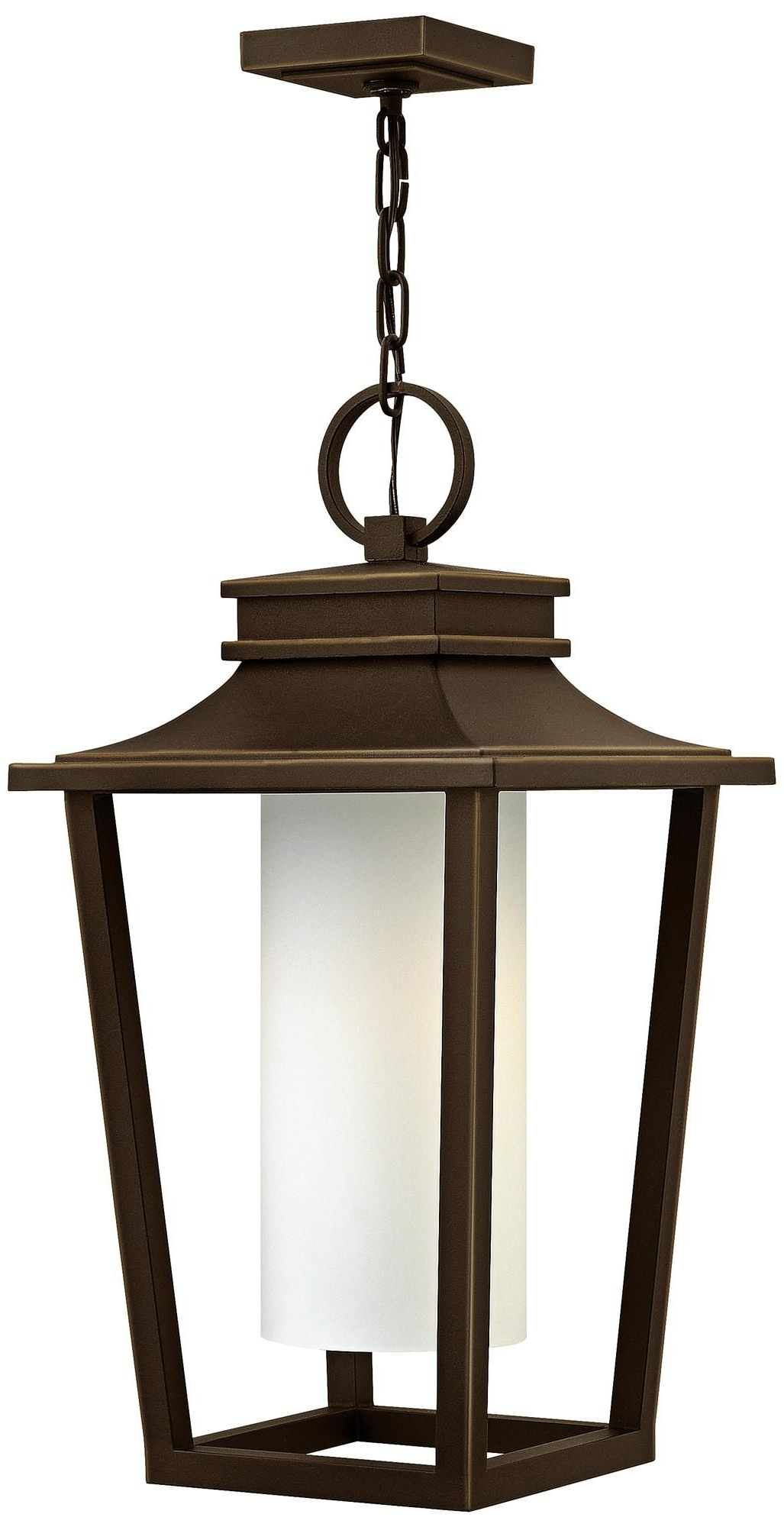 "Trendy Outdoor Oil Lanterns For Patio Intended For Sullivan 23"" High Oil Rubbed Bronze Outdoor Hanging Lantern (View 14 of 20)"