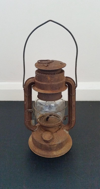 Trendy Outdoor Oil Lanterns For Patio Throughout Vintage Oil Lantern, Hanging Lamp, Old Kerosene Light, Rustic (View 17 of 20)