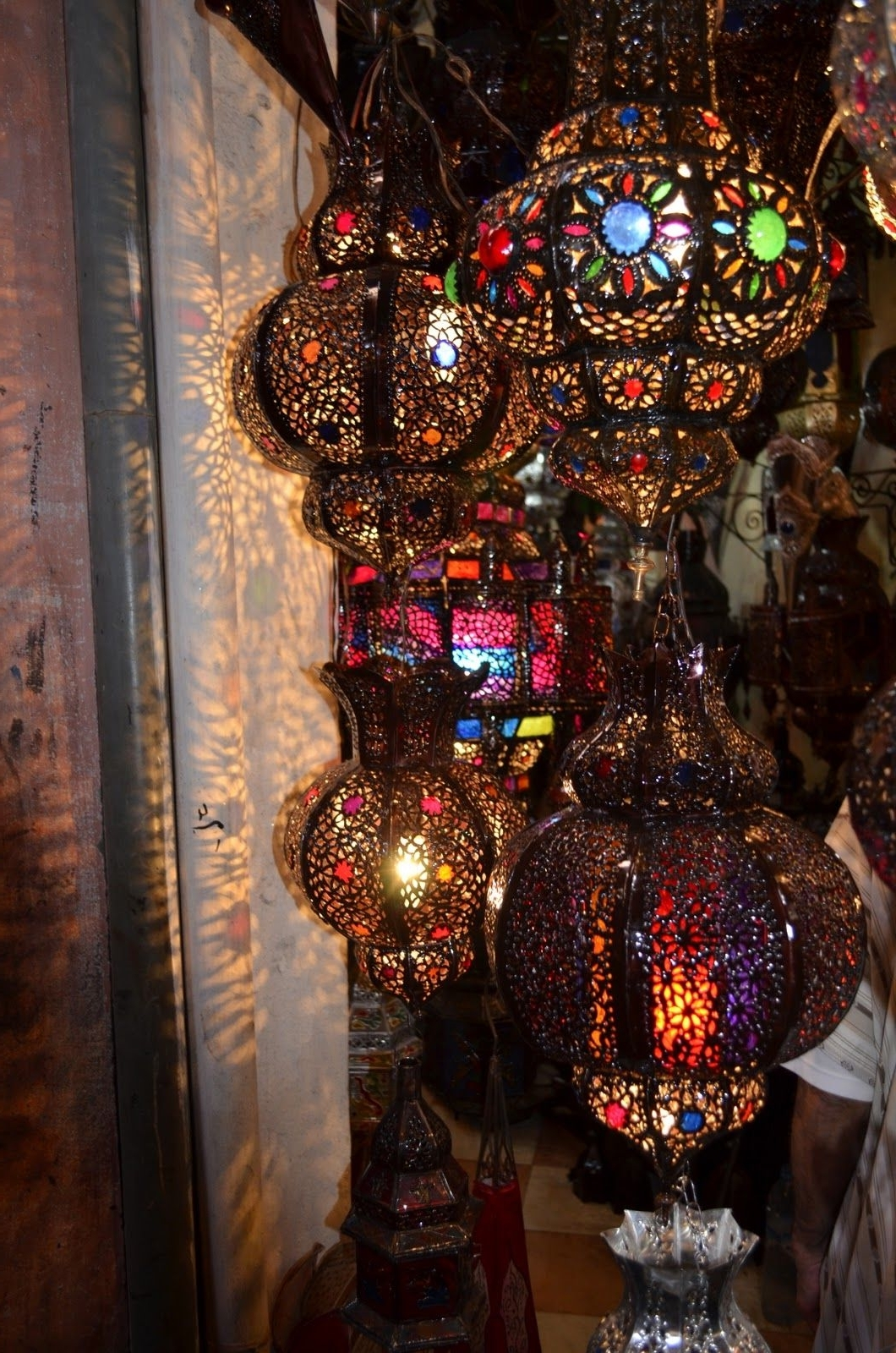 Trendy Outdoor Turkish Lanterns With Regard To I'm A Real Sucker For Intricate Lanterns And During My Recent Trip (View 16 of 20)