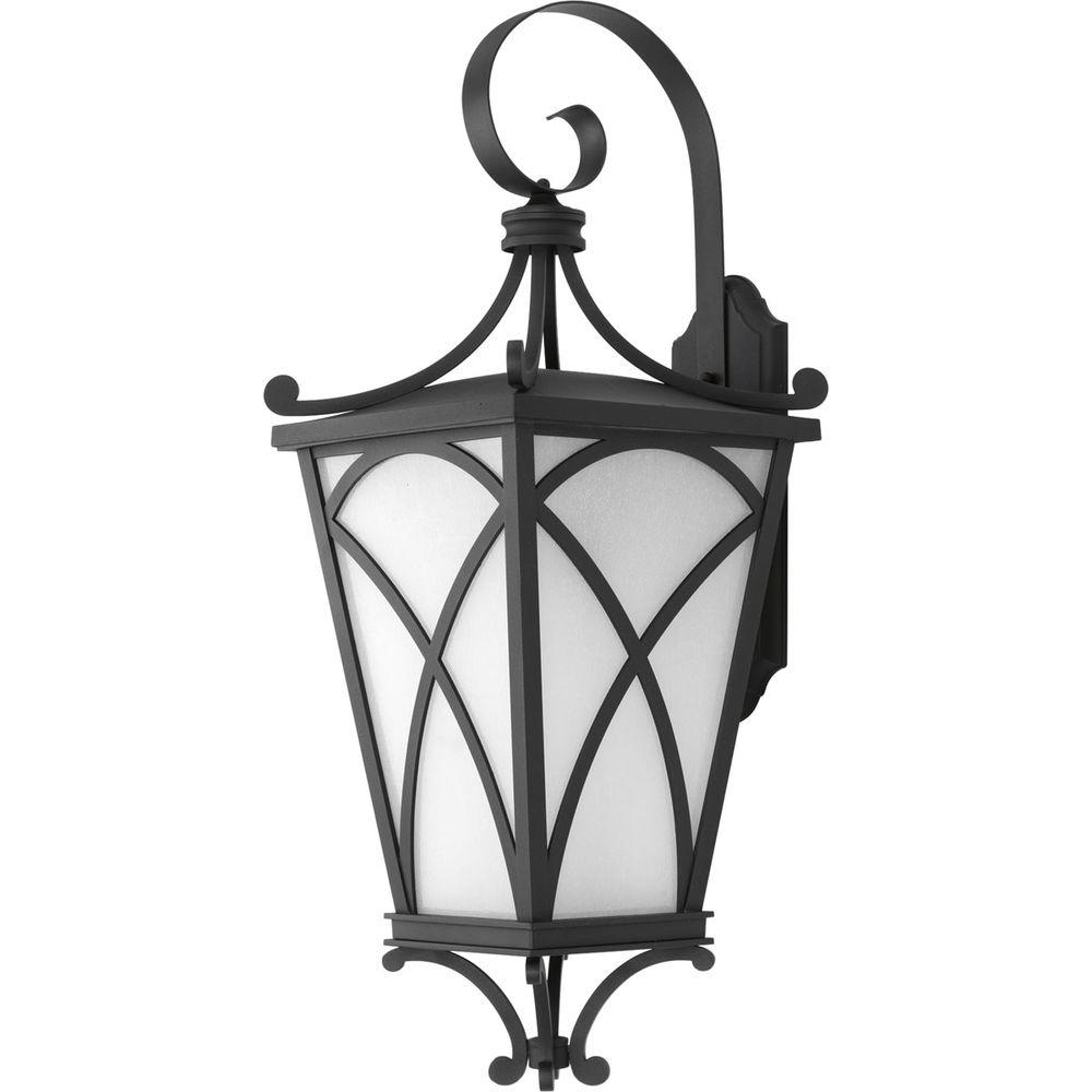 Trendy Progress Lighting Cadence Collection 1 Light Outdoor  (View 19 of 20)