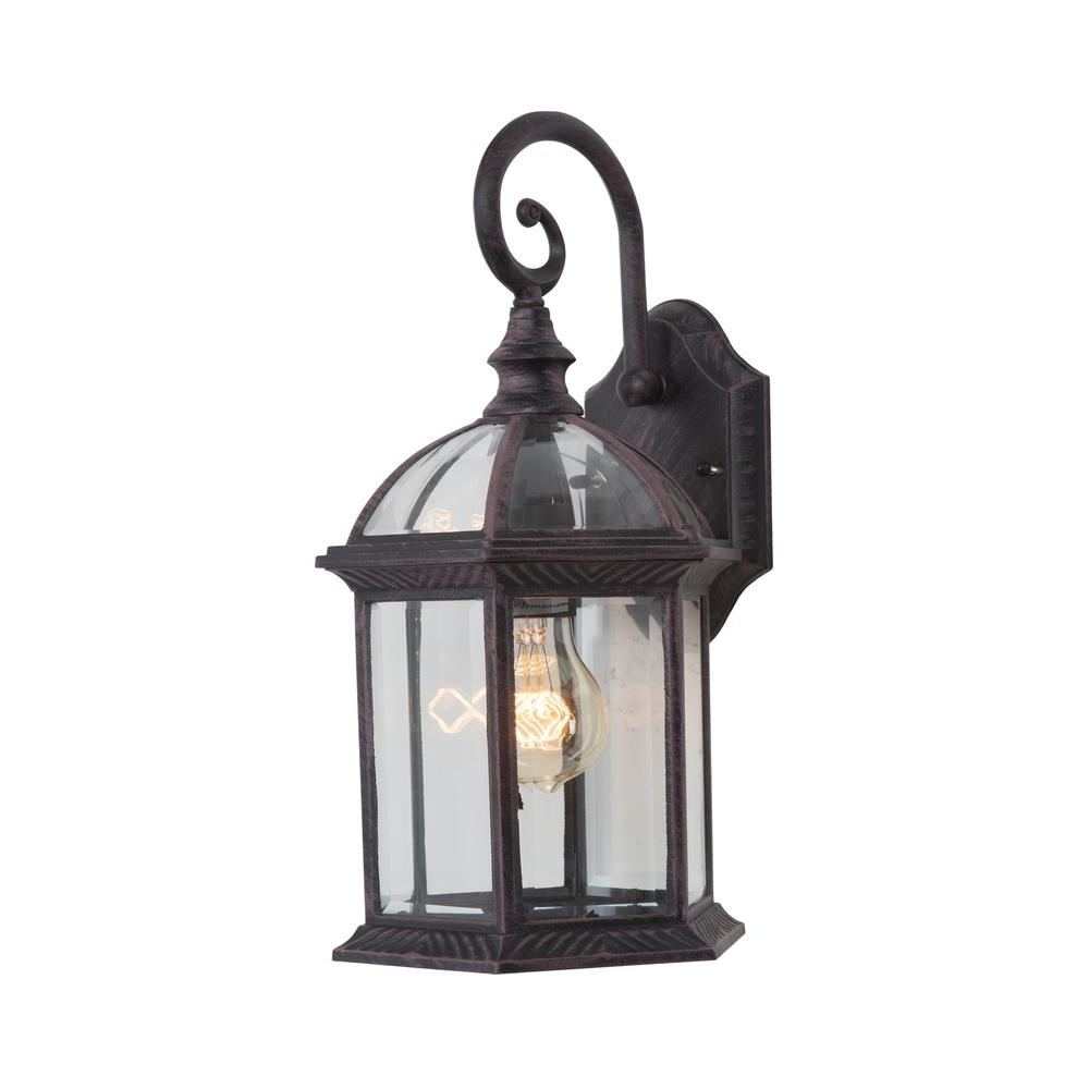 Trendy Yosemite Home Decor Anita Collection 1 Light Venetian Bronze Outdoor Within Outdoor Lanterns Decors (View 13 of 20)