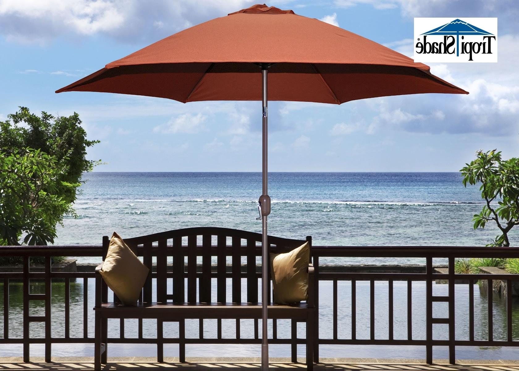 Tropishade ® Worldwide Manufacturer Of Outdoor Patio Umbrellas Throughout Famous Outdoor Patio Umbrellas (View 12 of 20)