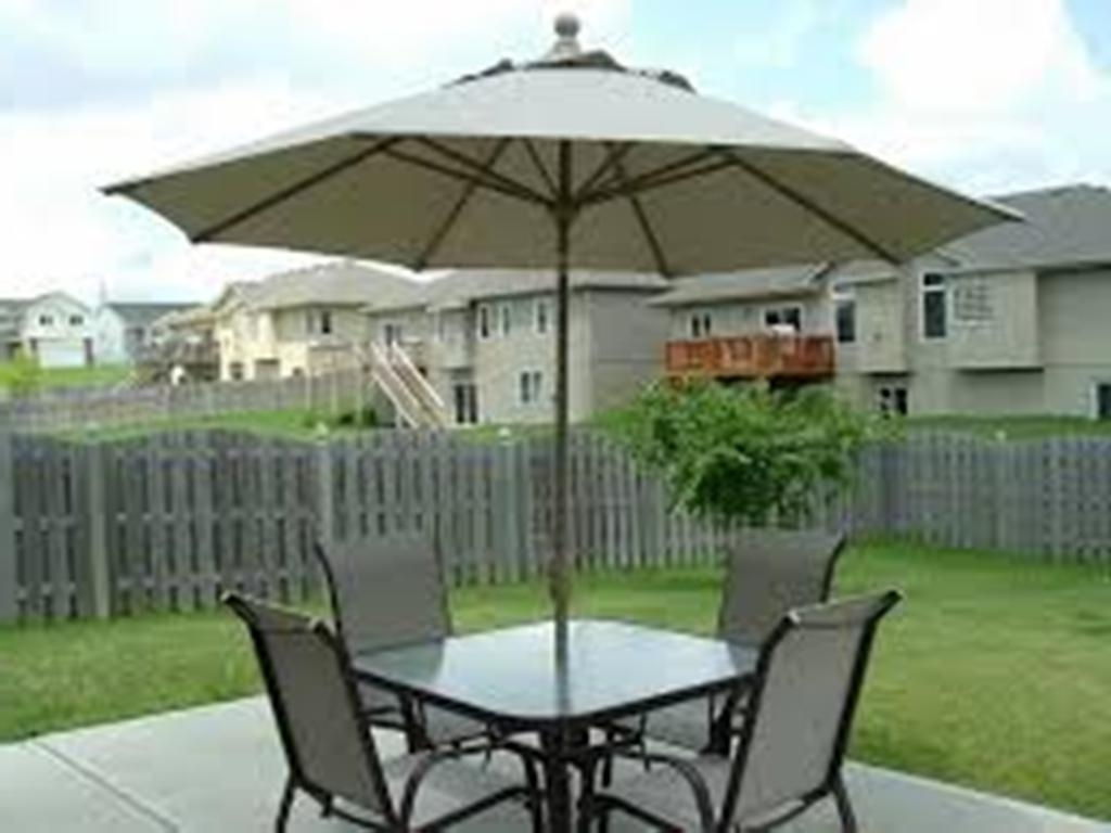 Tuckr Box Decors Regarding Most Recently Released Patio Furniture Sets With Umbrellas (View 16 of 20)
