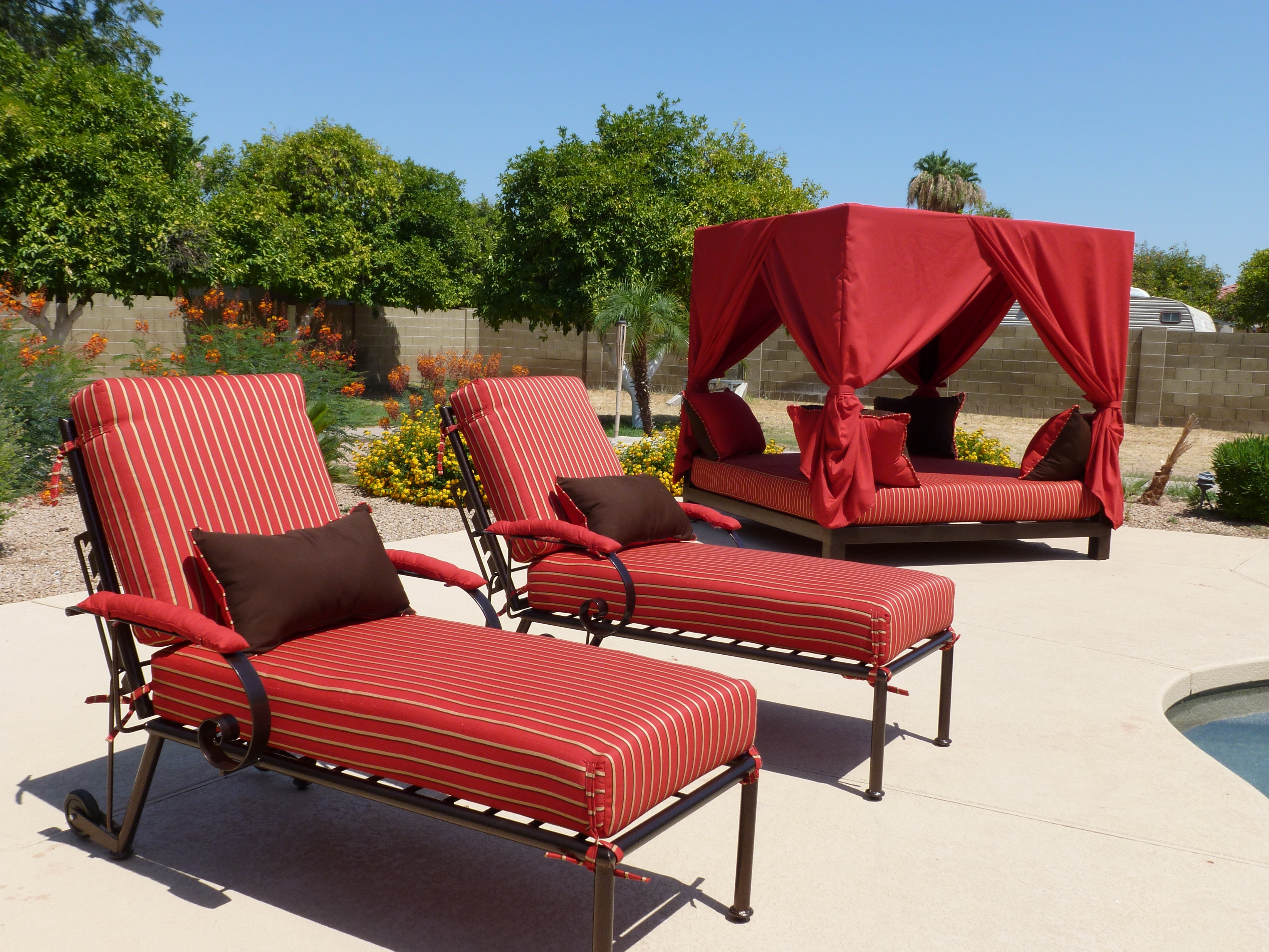 Upscale Patio Umbrellas For Most Recently Released Arizonaironfurniture (View 10 of 20)
