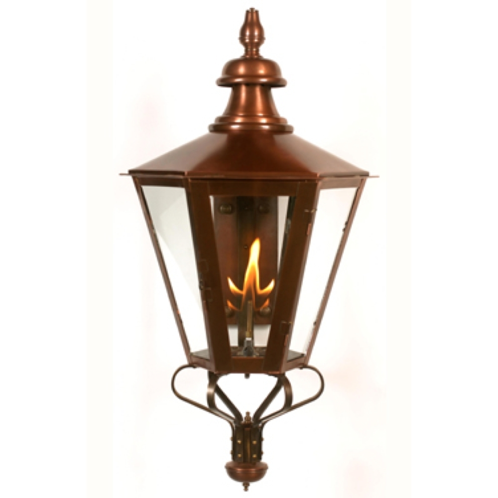 Vaughan Outdoor Lanterns Intended For 2018 Old English Gas Wall Lantern 1 Candlefourteenth Colony (View 16 of 20)