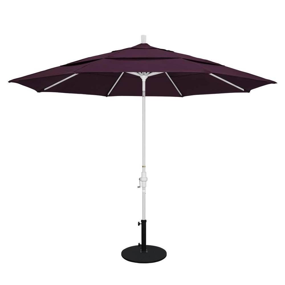 Vented Patio Umbrellas In Most Recent California Umbrella 11 Ft (View 15 of 20)
