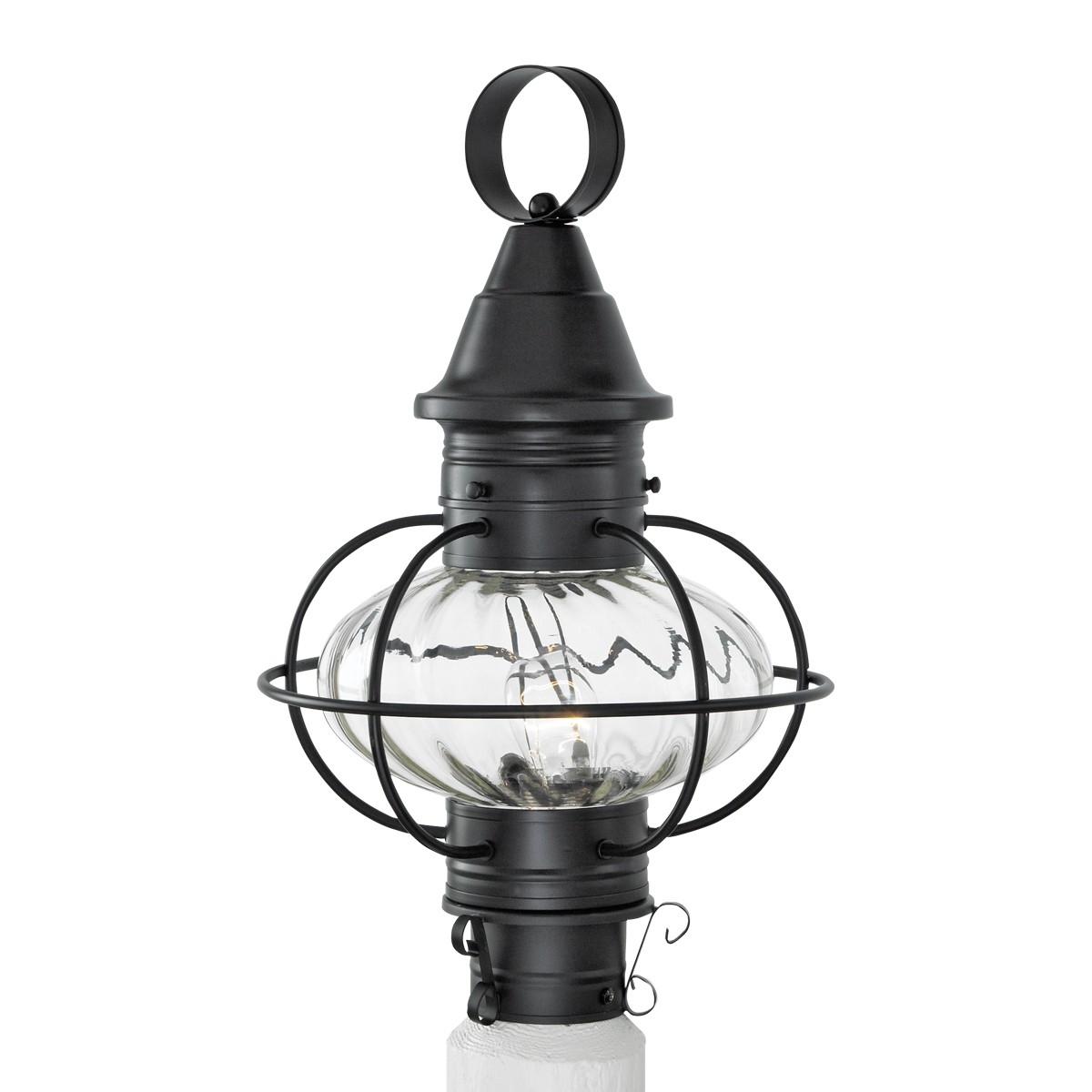 Vidalia Outdoor Glass Onion Post Light Pertaining To Favorite Outdoor Lighting Onion Lanterns (Gallery 9 of 20)