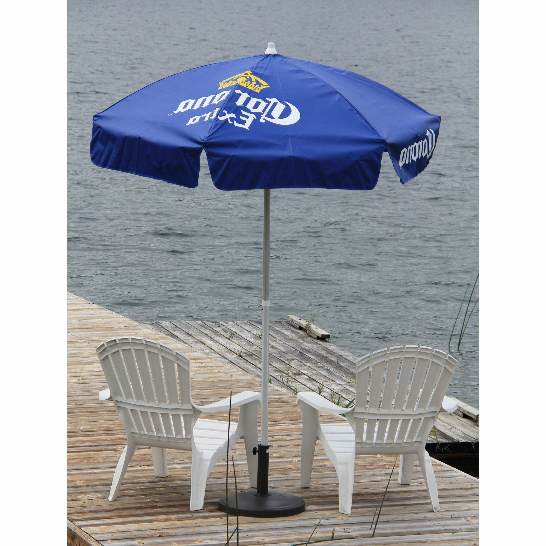 Vinyl Patio Umbrellas Intended For Favorite Destinationgear Corona Extra Vinyl Patio Umbrella – (View 17 of 20)