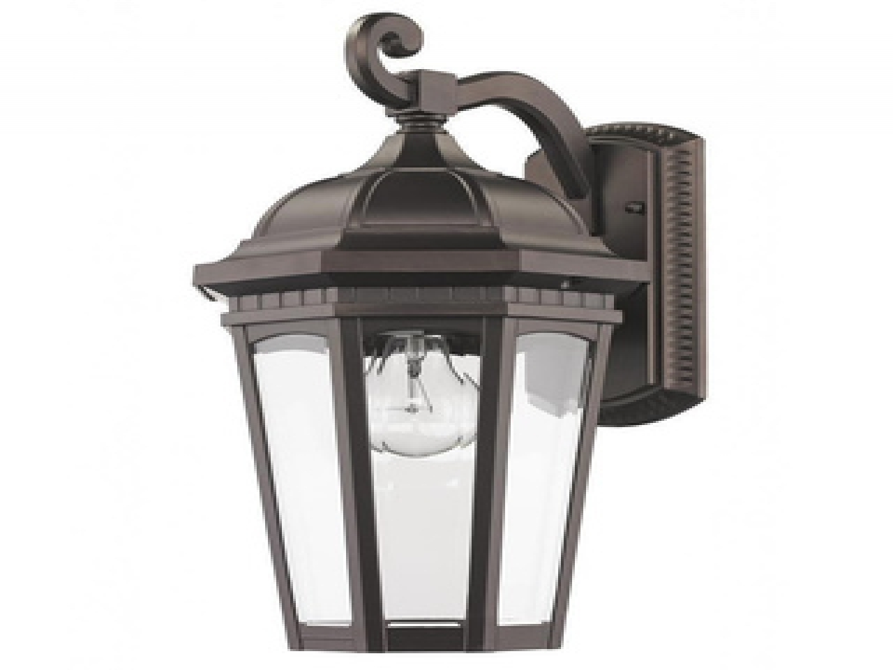 Wall Mount Exterior Solar Lights Powered Led Outdoor Landscape With Most Popular Outdoor Lanterns At Amazon (View 18 of 20)